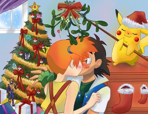 pokemon under mistletoe